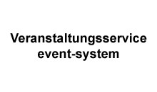 Veranstaltungsservice event-system